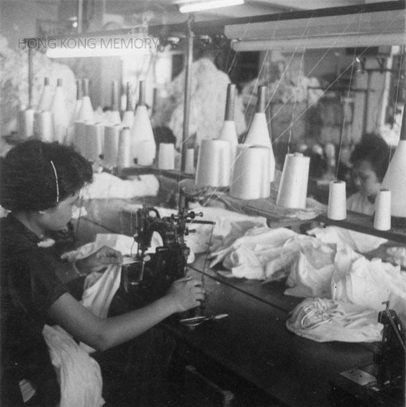 Knitting Fabric Manufacturing Process : 香港記憶 hong kong memory